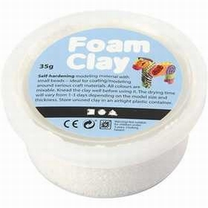 Foam Clay Creotime 78921 Wit