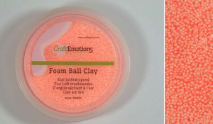 Foam Ball Clay 610110_0215 Oranje