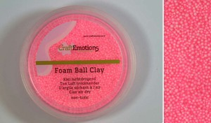 Foam Ball Clay 610110_0225 Roze