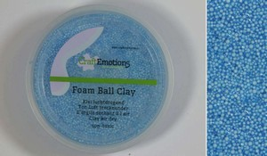 Foam Ball Clay 610110_0260 Licht Blauw  15gram