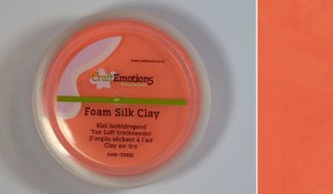 Foam Silk Clay 610110_0115 Oranje  15gram