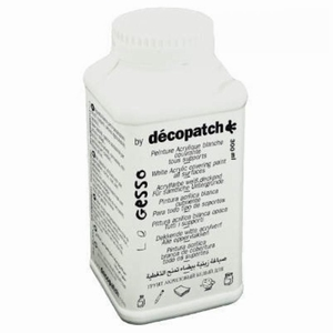 Decopatch Gesso wit dekkend art. GE300AO  300 ml