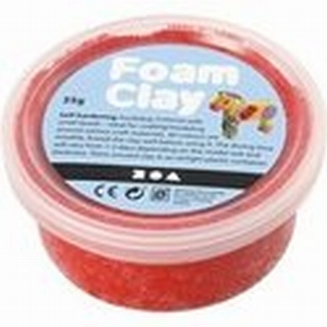 Foam Clay Creotime 78923 Rood