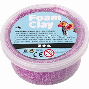 Foam Clay Creotime 78925 Neon Paars