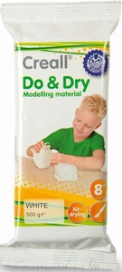 Creall Do&Dry witte zelfhardende klei op papierbasis