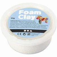 Foam Clay wit