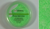 Foam Ball Clay 610110_0250 Licht Groen 15gram