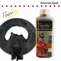 Powertex Zwart 0,5 liter
