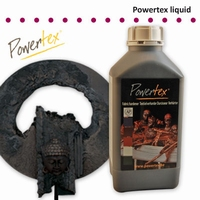 Powertex Zwart 1 liter