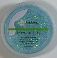 Foam Ball Clay 610110_1360 Lichtblauw glitter 30gram