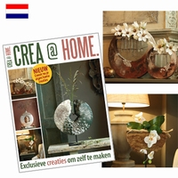 Powertex Crea@Home 2 Kamer en groendecoraties met Powertex