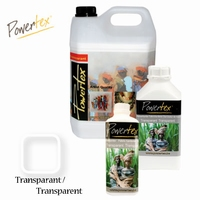Powertex Transparant 0,5 liter