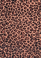 Decopatch papier DFA207 Panter donkerbruin